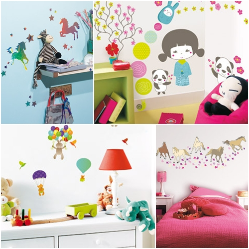 Caselio vinilos infantiles y stickers for Pegatinas pared ninos