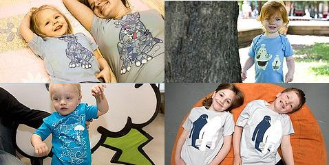Threadless Kids, camisetas para niños muy fashion