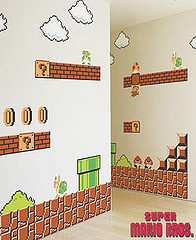 2807478067 0309a82a86 m Super Mario Bros en la pared de los chicos