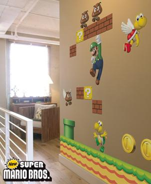 2807478223 680bb32f46 o Super Mario Bros en la pared de los chicos