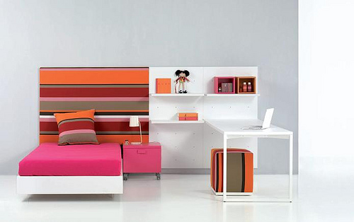 Habitaciones de diseño para chic@s actuales