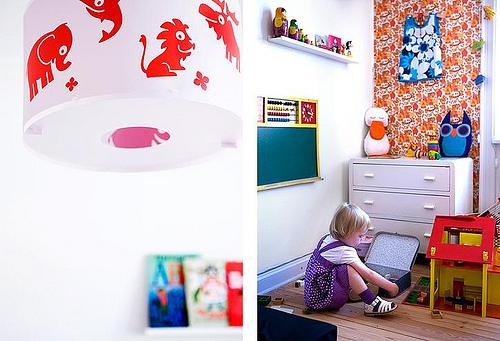 3252584767 ed825dc49f Ambientes que inspiran: Habitación infantil con look vintage
