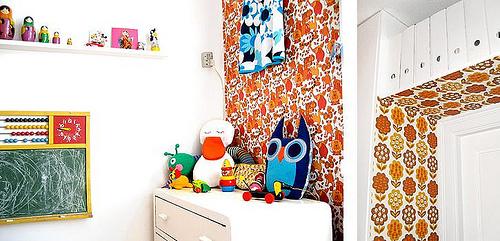 3253410852 852fb0e2c9 Ambientes que inspiran: Habitación infantil con look vintage