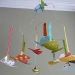 Decoración de habitaciones infantiles con artesanías de Etsy