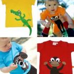 Camisetas para niños, ¡¡están de moda!!