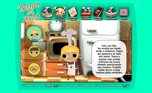tula Telmo y Tula, recetas de cocina para hacer con niños