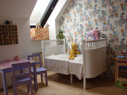 Ambientes que inspiran decorar con papel pintado decopeques - Decorar papel pintado ...