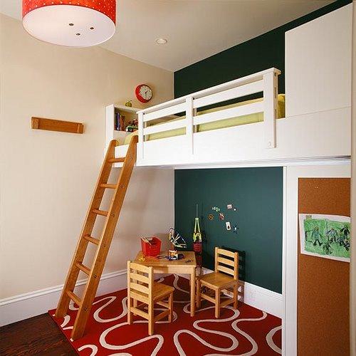 Ambientes que inspiran una habitaci n muy pensada - Altillos en habitaciones ...