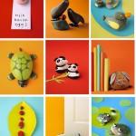 Ideas para el verano: Decorar y crear con piedras
