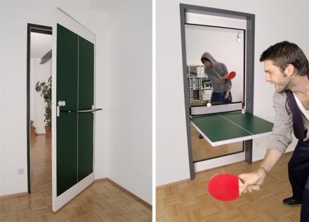 ping pong Las puertas también pueden ser divertidas