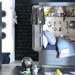 Una habitación infantil en un armario