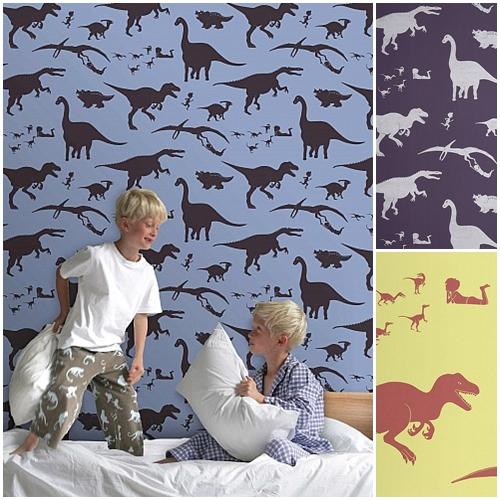 Dinosaurios para habitaciones de niños | DecoPeques -Decoración ...