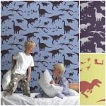 Dinosaurios para habitaciones de niños