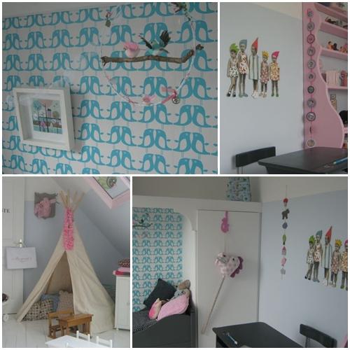 Ideas para una decoraciu00f3n infantil vintage - DecoPeques