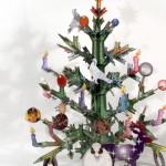 Totem Xmas, el árbol de Navidad-Puzzle