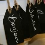 Etiquetas para identificar los regalos