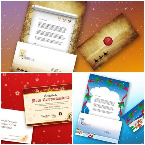 cartas La Carta personalizada de Papa Noel y Los Reyes Magos
