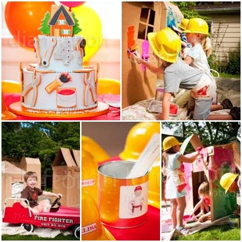 fiesta construccion1 Fiesta infantil de la Construcción