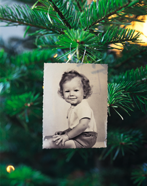 fotoarbol Fotos en el árbol de Navidad