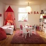 Ambientes que inspiran: habitaciones infantiles en rojo y blanco