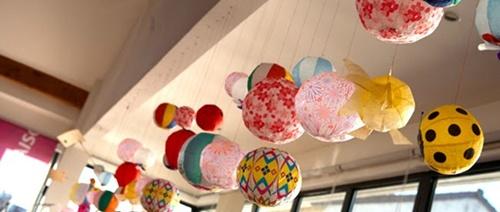 globospapel2 Alegres globos de papel japoneses
