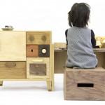 Mueble infantil de  un estudiante de diseño