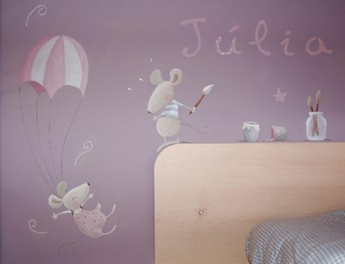 Decoracion Infantil Pared ~ Murales infantiles que cuentan historias  DecoPeques