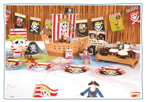 pirata Novedades para fiestas infantiles