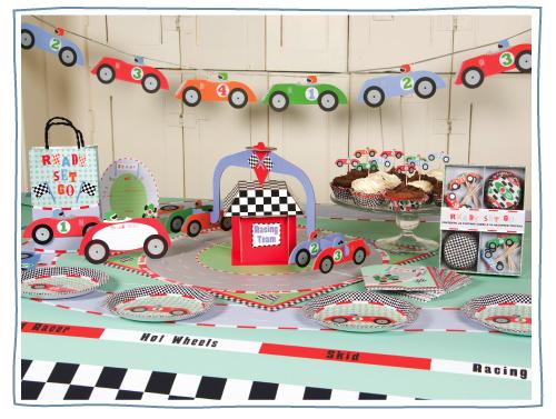 racecarpartyware Novedades para fiestas infantiles