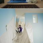 La imaginación de los niños en fotografías