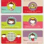 Vales gratis para regalar el Día de la Madre