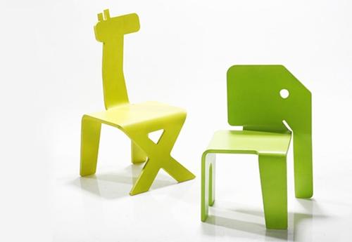 Diseño infantil: Sillas para niños