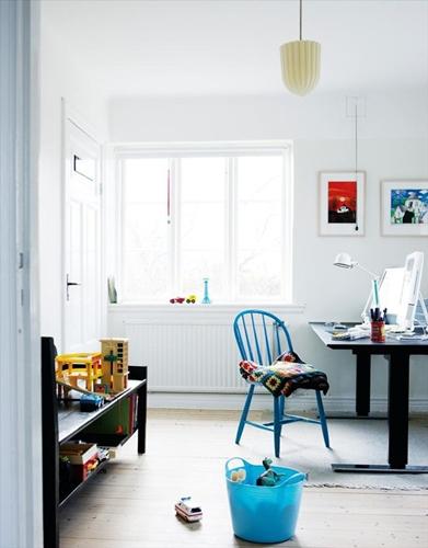 amb2 Habitaciones infantiles decoradas en blanco