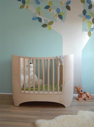 Armoniosa habitación de bebé