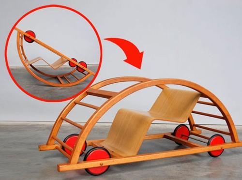 juguetes convertibles Juguete polivalente de diseño