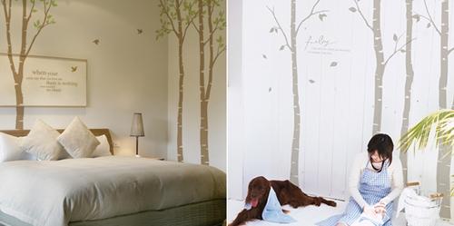 vinilos obni Pon un árbol en tu casa