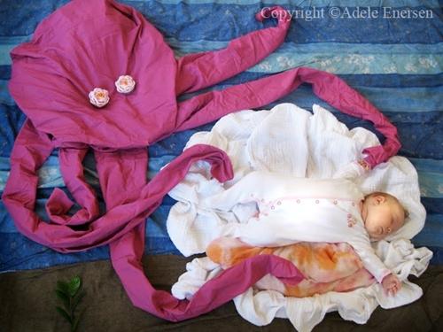 fotos mila Fotos creativas de un bebé durmiendo
