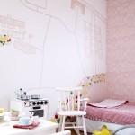 Habitaciones infantiles para niñas en rosa