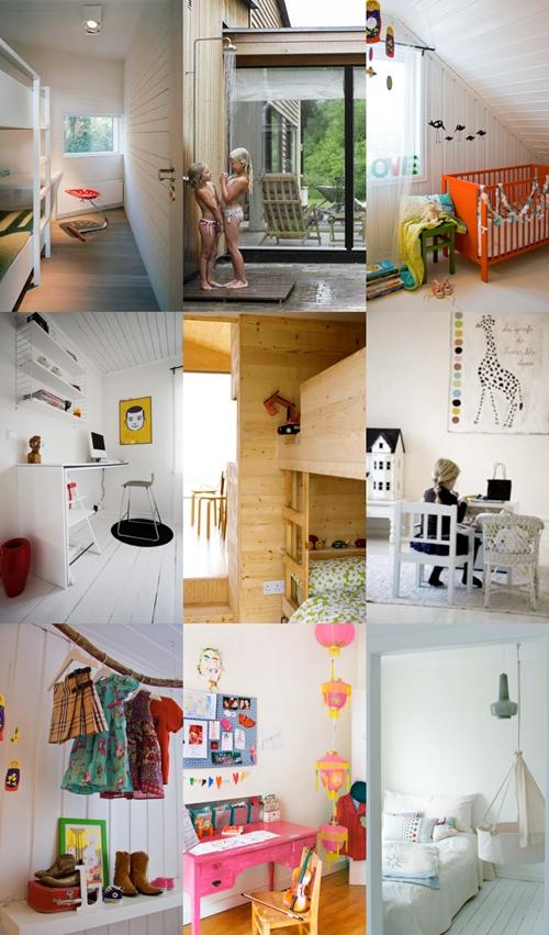 decoracion escandinava1 Habitaciones infantiles escandinavas