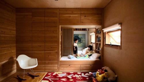 habitacion infaltil1 Una habitación infantil diferente y especial