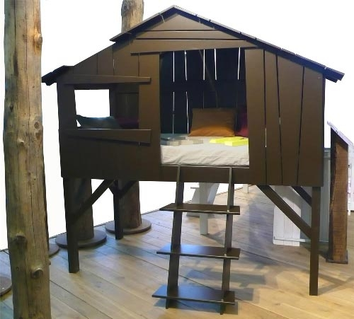 cama cabaña Clic clac foto ... Dormir en una cabaña
