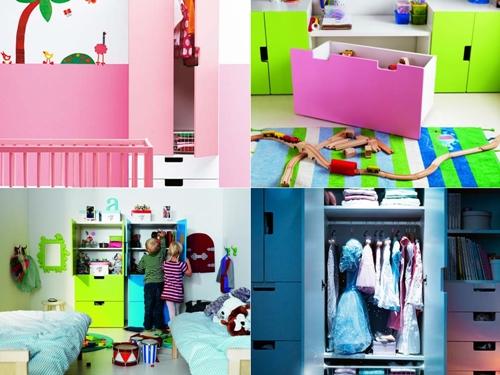 Mobiliario para tienda de ropa infantil elegant cool - Ikea cubo ropa ...