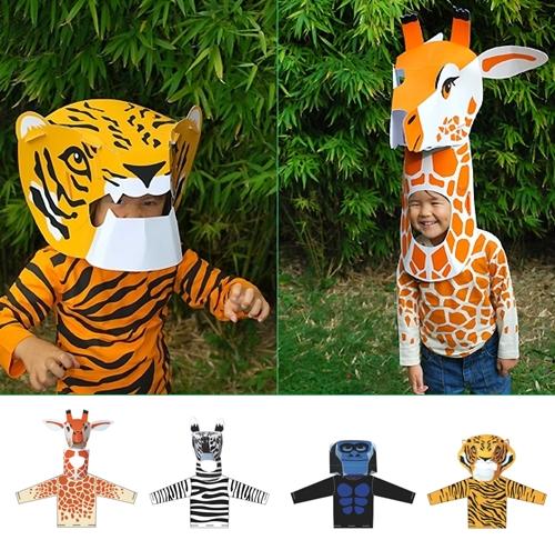 Como Hacer Disfraces De Animales
