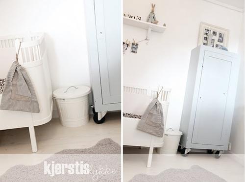 Dormitorio para beb estilo n rdico decopeques for Estilo nordico para dormitorio