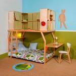 """Dormitorios infantiles """"Popspace"""" por Matali Crasset"""