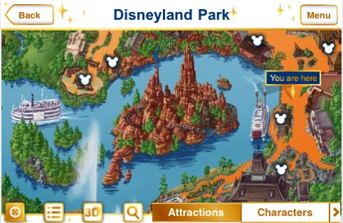 disney1 Disneyland Paris en tu iPhone