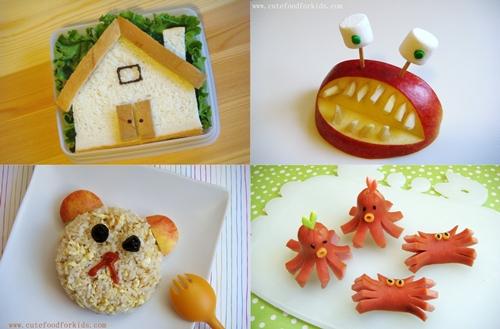 Comida divertida para ni os for Cocina divertida para ninos