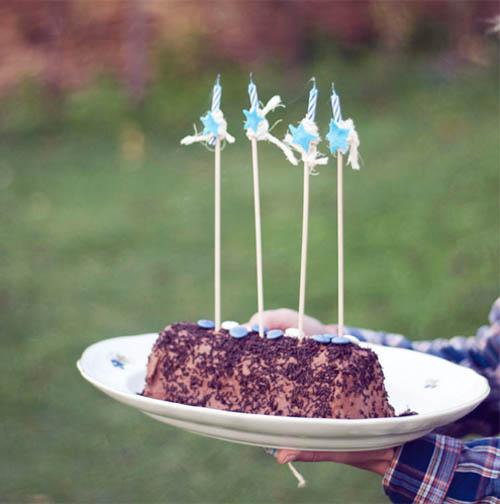tarta Fiesta infantil de cumpleaños indias y vaqueros