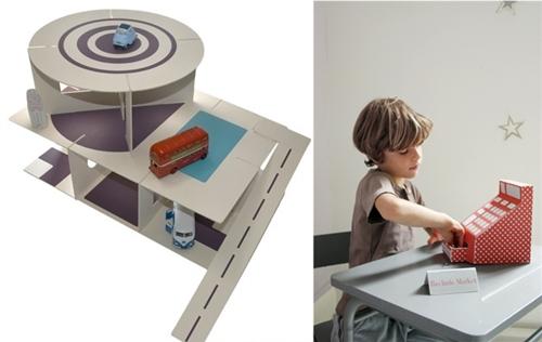carton maquina Especial juguetes de cartón