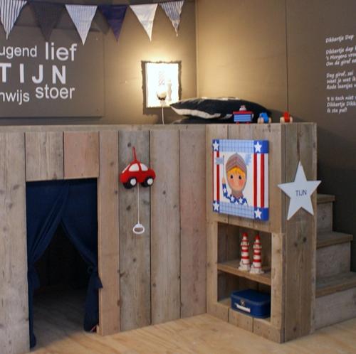 habitaciones infantiles vintage inspiraci243n